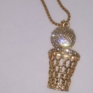 New hip hop style basketball pendent necklace